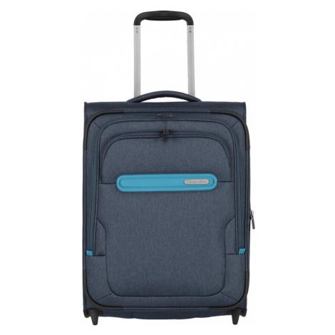 Travelite Kabinový cestovní kufr Madeira 2w S Navy/Blue 41/47 l