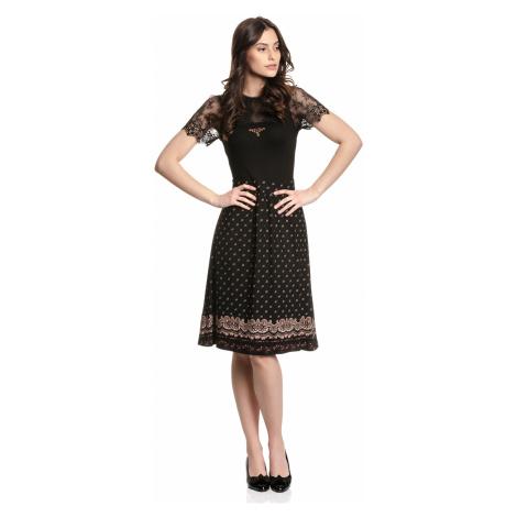Krajkové šaty Vive Maria Heidi černé