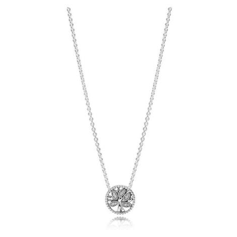 Pandora Stříbrný náhrdelník se stromem života 397780CZ-45