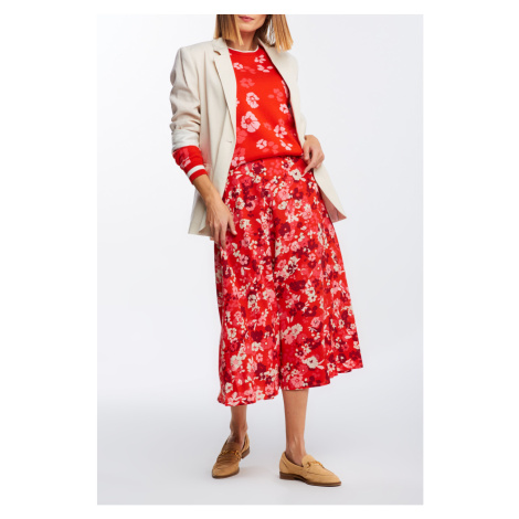 SUKNĚ GANT D1. LIBERATION BOUQUET WRAP SKIRT