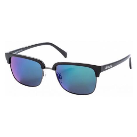 Brýle Meatfly Elegia black glossy, green