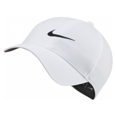 Kšiltovka Nike DF L91 TECH CAP Bílá