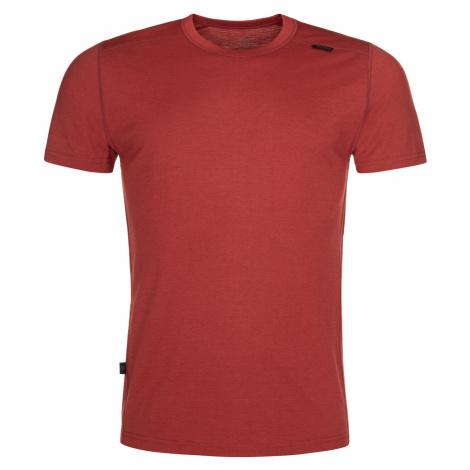 KILPI Pánské funkční merino triko MERIN-M NM0011KIDRD Červená