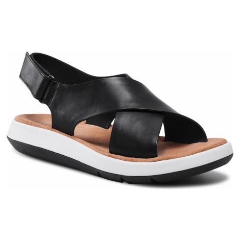 Sandály CLARKS - Jemsa Cross 261584774 Black Leather