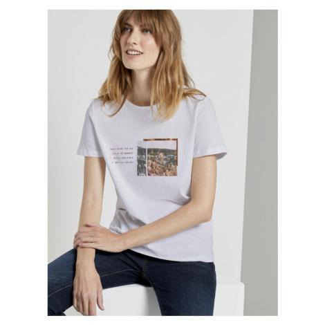 Tom Tailor dámské tričko s krátkým rukávem 1021951/10315