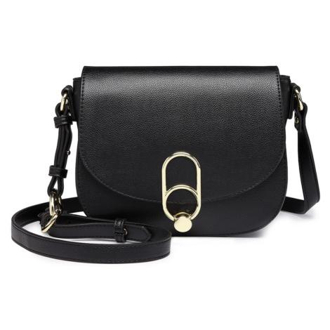 Černá dámská klopnová kabelka Abby Lulu Bags