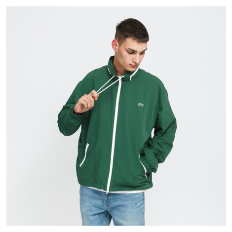 LACOSTE Windbreaker Jacket zelená