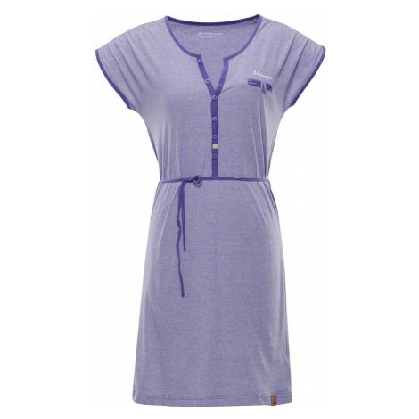 ALPINE PRO BERKA Dámské Šaty LSKN151679 Blue iris