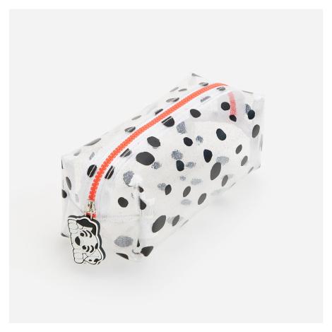 Reserved - Průsvitné pouzdro na tužky 101 Dalmatians - Bílá