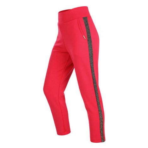 Dámské kalhoty se sníženým sedem Litex 5B236 | červená