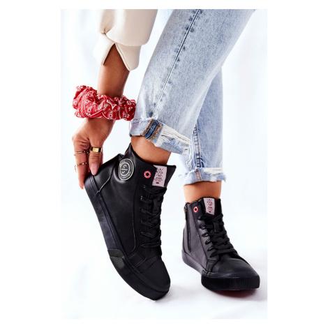 Dámské Zateplené Tenisky Cross Jeans Bilé II2R4010C Cross jeans®