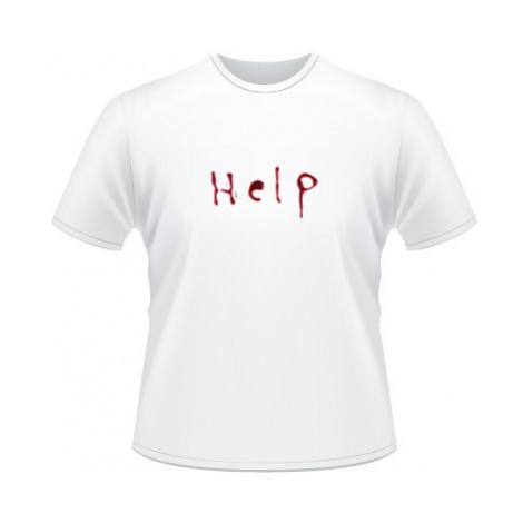 Pánské tričko na tělo Help