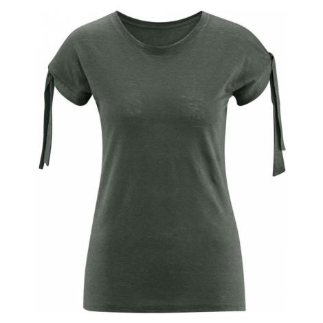 Dámské lněné tričko