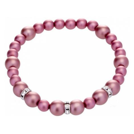 Preciosa Perličkový náramek Silky Pearl 03