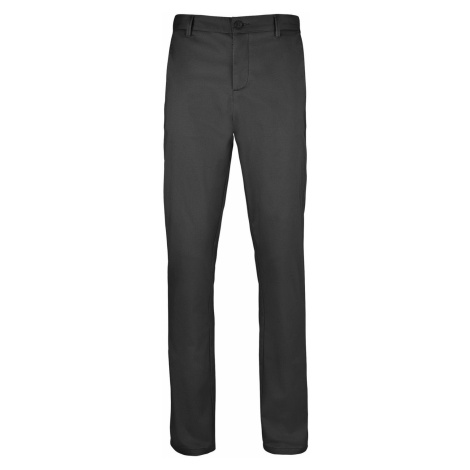 SOĽS Pánské saténové kalhoty JARED MEN 02917312 Černá SOL'S