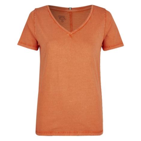 Tričko Camel Active T-Shirt - Oranžová