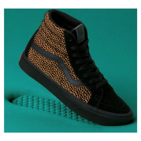 Boty Vans Comfycush SK8-Hi tiny cheetah, black