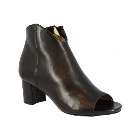 Leonardo Shoes N268 AIR NERO Černá
