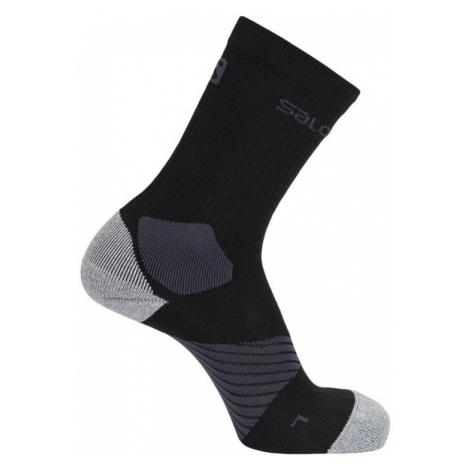 Ponožky Salomon XA PRO - černá/šedá