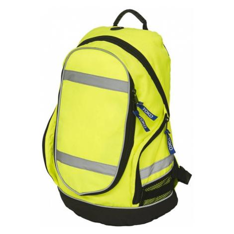 Reflexní batoh London - žlutý