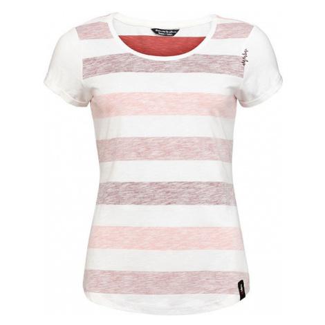 Chillaz Otztal Stripes triko KR dámské, červená