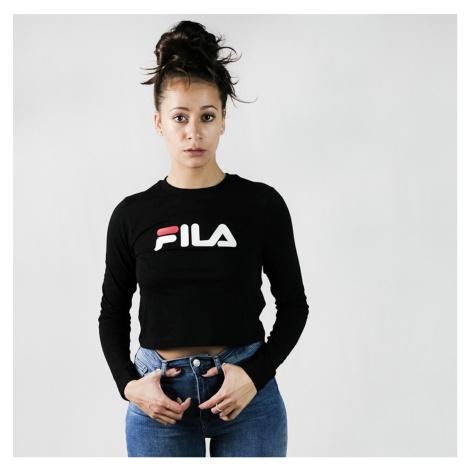 Černé tričko Marceline Cropped Fila