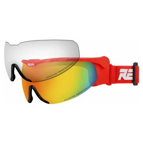 RELAX NORDIC Lyžařské brýle HTG27G červená LXL