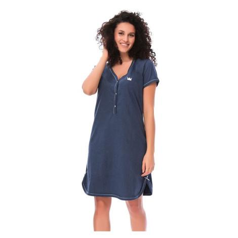 Dámská bavlněná košile Lor tmavě modrá