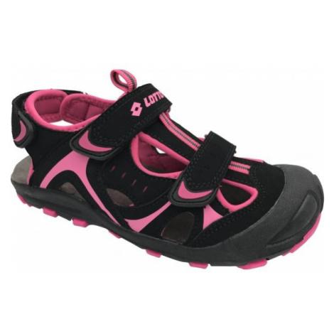 Lotto MARSHALL fialová - Dětské sandály