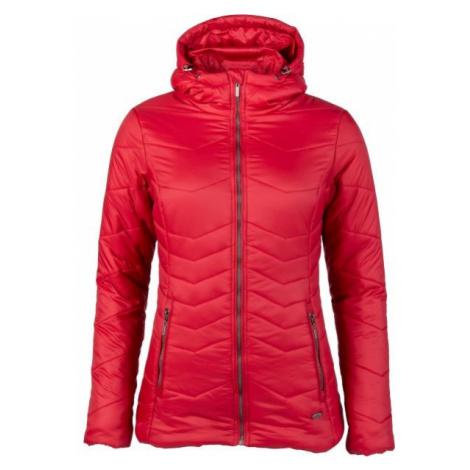 Willard ASPENA červená - Dámská prošívaná bunda