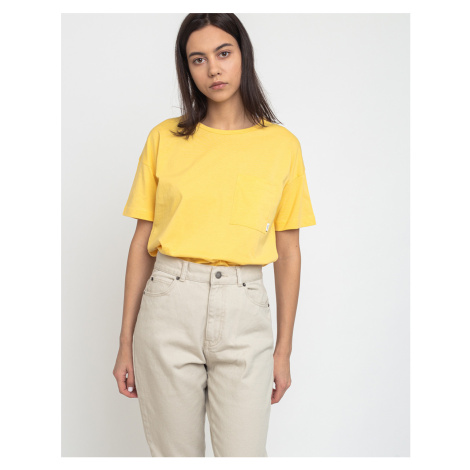 Makia Dusk T-Shirt Yellow