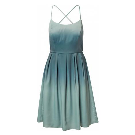 VM Vera Mont Koktejlové šaty mátová / tmavě zelená