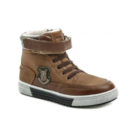 American Club GC32-20 hnědé zimní dětské boty Hnědá