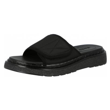 NA-KD Pantofle 'Velcro' černá