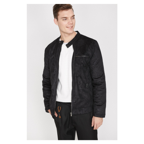 Koton Male Black Coat