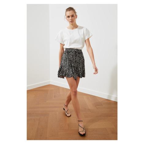 Trendyol Black Cast Knitted Skirt