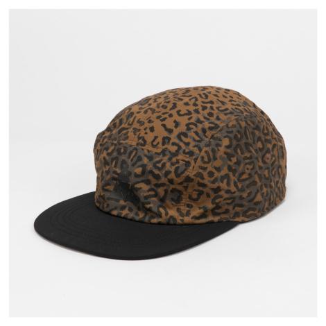 HUF Peak Reversible Volley Cap černá / hnědá / šedá