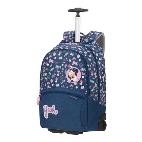 SAMSONITE Dětský batoh na kolečkách Color Funtime Disney Minnie Doodles, 33 x 19 x 51 (124788/81