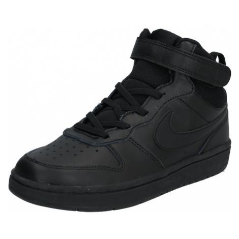 Nike Sportswear Tenisky 'Nike Court Borough Mid 2' černá