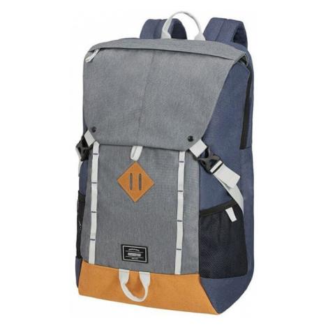 American Tourister batoh na notebook -šedo modrý 107266-2665