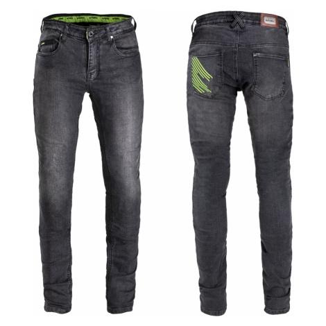 Pánské moto džíny W-TEC Leonard černá