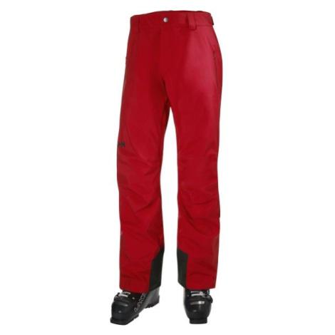 Helly Hansen LEGENDARY INSULATED PANT červená - Pánské lyžařské kalhoty
