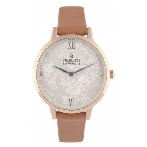 Růžovo-zlaté hodinky CRS18038 Charlotte Raffaelli