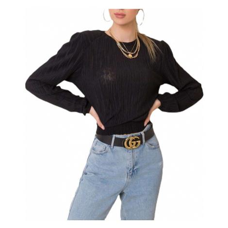 černé dámské tričko Rue Paris