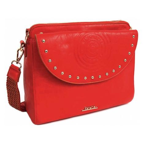 Dámská crossbody kabelka Doca Amanda - červená  583867cf6e0