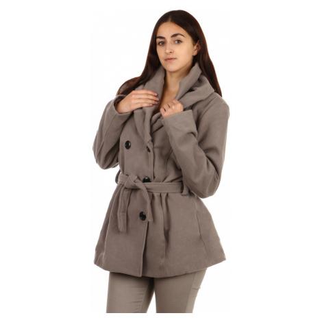 Zimní dámský kabátek s límcem