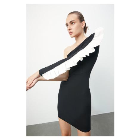 Trendyol Black Akseuar Detailed Dress