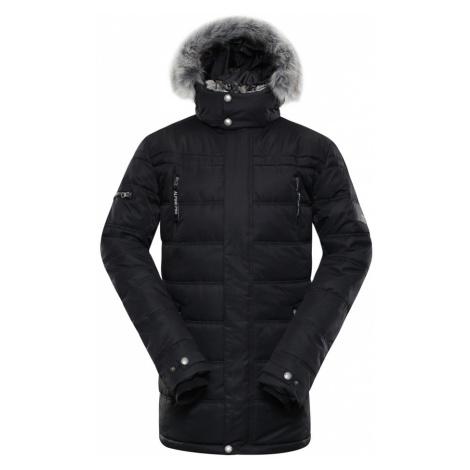 ALPINE PRO ICYB 5 Pánská zimní bunda MJCP361990 černá