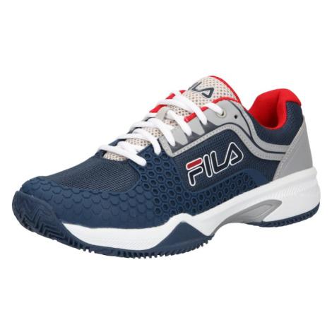 FILA Sportovní boty 'SABBIA' tmavě modrá / šedá