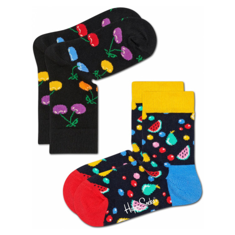 2-Pack Cherry Socks Happy Socks